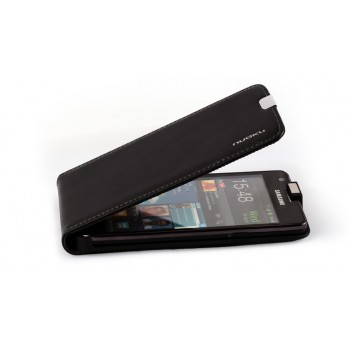 Чехол NUOKU Cradle Genuine Leather Case BLACK для Samsung Galaxy S2 i9100