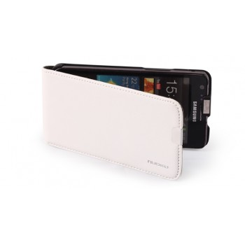 Чехол NUOKU Cradle Genuine Leather Case WHITE для Samsung Galaxy S2 i9100