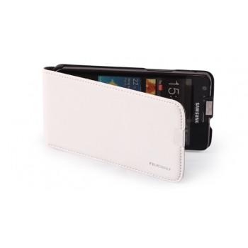 Чехол NUOKU Cradle Genuine Leather Case WHITE для Samsung Galaxy S2 i9100