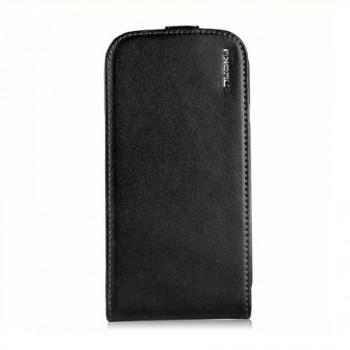 Чехол NUOKU Cradle Genuine Leather Case BLACK для Samsung Galaxy S3 i9300