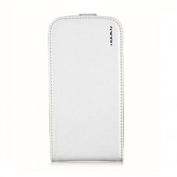 Чехол NUOKU Cradle Genuine Leather Case WHITE для Samsung Galaxy S3 i9300