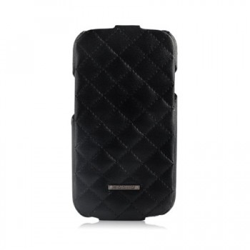 Чехол NUOKU Only Luxury Lambskin Case BLACK для Samsung Galaxy S3 i9300