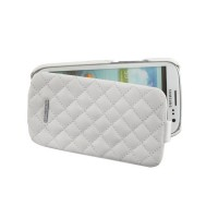 Чехол NUOKU Only Luxury Lambskin Case WHITE для Samsung Galaxy S3 i9300