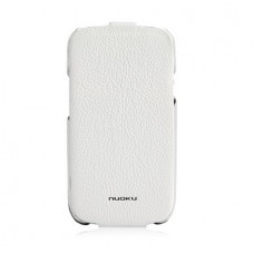 NUOKU Royal Luxury Leather Case WHITE для Samsung Galaxy S3 (i9300)