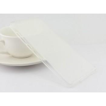 Чехол силиконовый Silicone TPU Matte Gloss White для Xiaomi Mi5