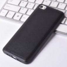 Чехол Silicone TPU Matte для Xiaomi Mi5 Black