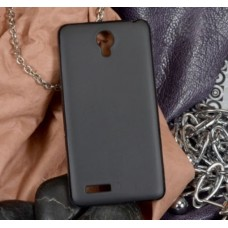 Чехол Silicone TPU Matte для Xiaomi RedMi Note Black