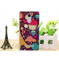Чехол силиконовый Silicone Paris Love для Xiaomi Red Mi Note 3