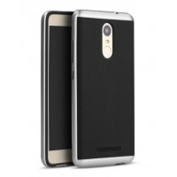 Чехол пластиковый iPaky Luxury Armor with Frame Silver для Xiaomi Redmi Note 3