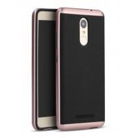 Чехол пластиковый iPaky Luxury Armor with Frame Pink для Xiaomi Redmi Note 3