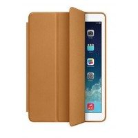 Чехол Apple Leather Smart Case Brown для iPad Air 2