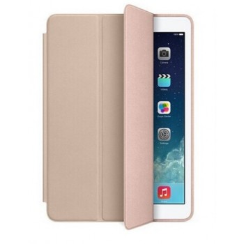 Чехол Apple Leather Smart Case Beige для iPad Air 2