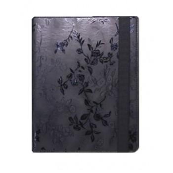 Чехлы - Чехол 360 Vintage Black цветы для IPad 2/3/4