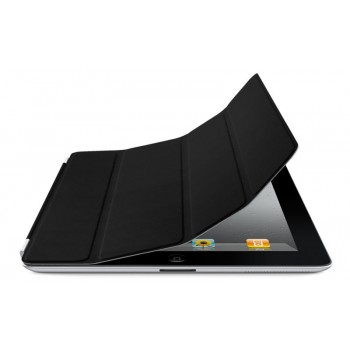 Чехол Apple Smart Cover Leather Black для iPad 2/3/4