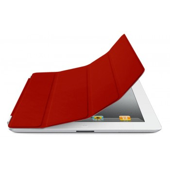 Чехол Apple Smart Cover Leather Red для iPad 2/3/4