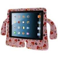Чехол резиновый Speck iGuy Angry Birds Pink для iPad 2/3/4