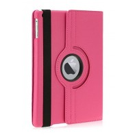 Чехол 360 Rotating Stand Leather Case Pink для iPad 2/3/4