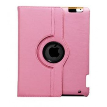 Чехол 360 Rotating Stand Leather Case Light Pink для iPad 2/3/4