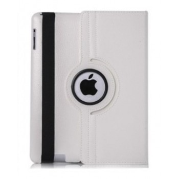 Чехол 360 Rotating Stand Leather Case White для iPad 2/3/4