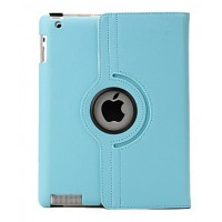Чехол 360 Rotating Stand Leather Case Blue для iPad 2/3/4