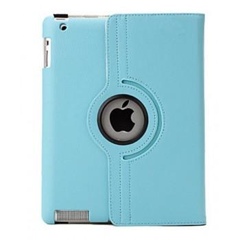 Чехол 360 Rotating Stand Leather Case Blue для iPad 2/3/4