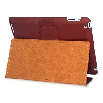 Чехол HOCO Ultra Thin Fashion Leather Case BROWN для iPad 3/iPad 2