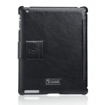 Чехол ICARER Case Honourable Series BLACK для iPad 3/iPad 2