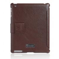 Чехол ICARER Case Honourable Series BROWN для iPad 3/iPad 2
