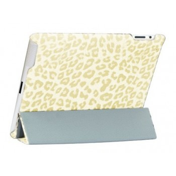 Чехол NUOKU ROYAL Stylish Leather Case CREAM для iPad 2/3/4