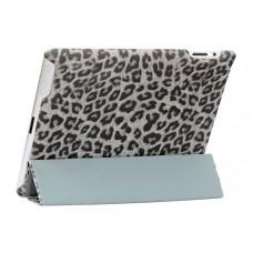 Чехол NUOKU ROYAL Stylish Leather Case GREY для iPad 3/iPad 2