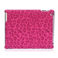 Чехол NUOKU ROYAL Stylish Leather Case PINK для iPad 3/iPad 2