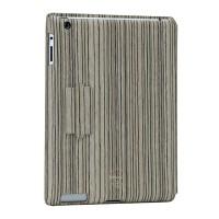 Чехол Ozaki iCoat Notebook Grain 80's Серый для iPad 4/3/2