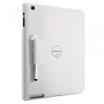 Чехол Ozaki iCoat Notebook WHITE для iPad 4/3/2