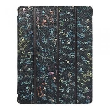 Чехол кожаный Teemmeet Smart Cover Grey для iPad 2/3/4