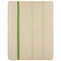 Чехол кожаный Teemmeet Beige для iPad 2/3/4