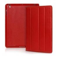 Чехол кожаный YOOBAO iSmart Leather Case RED для iPad 3/iPad 2