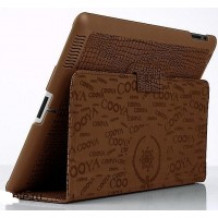 Чехол Cooya Crocodile Brown для iPad 2/iPad 3/4
