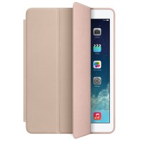 Чехол Apple Leather Smart Case BEIGE для iPad Air