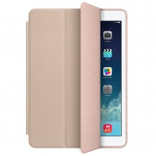 Чехол кожаный Apple Leather Smart Case BEIGE для iPad Air