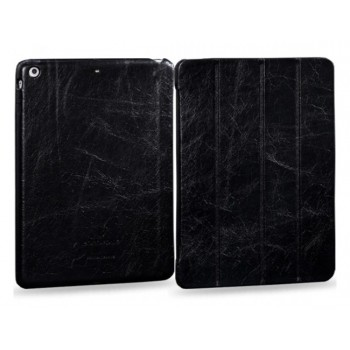Чехол-книжка кожаная Borofone General Series Leather Case Black для iPad Air