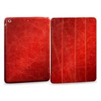 Чехол-книжка кожаная Borofone General Series Leather Case Red для iPad Air