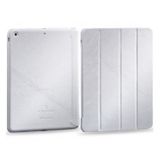 Чехол-книжка кожаная Borofone General Series Leather Case White для iPad Air