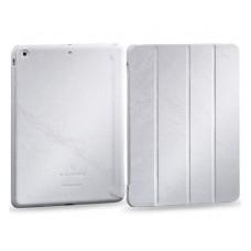 Чехол-книжка кожаная Borofone General Series Leather Case White для iPad Air