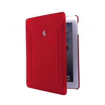 Чехол Ferrari F12 Collection Leather Folio Case RED для iPad Air