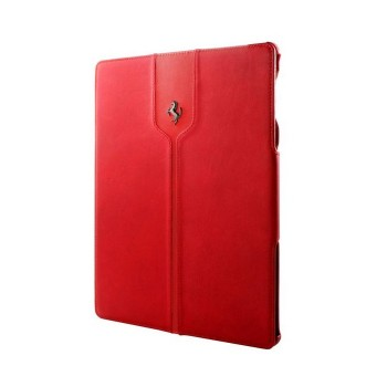 Чехол Ferrari Montecarlo Collection Leather Case RED для iPad Air