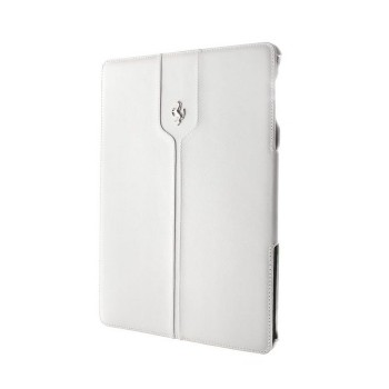 Чехол Ferrari Montecarlo Collection Leather Case WHITE для iPad Air
