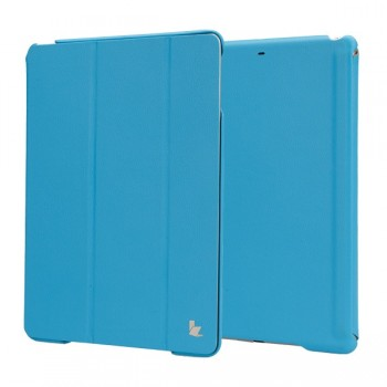 Чехол JisonCase Executive Smart Case BLUE для iPad Air/Air 2