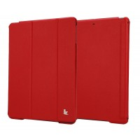 Чехол JisonCase Executive Smart Case RED для iPad Air/Air 2