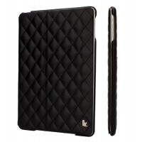 JIsonCase Quilted Leather Smart Case BLACK для iPad Air