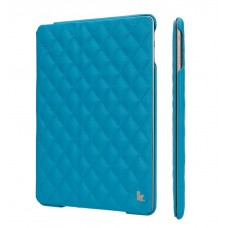 Чехол JIsonCase Quilted Leather Smart Case BLUE для iPad Air/Air 2